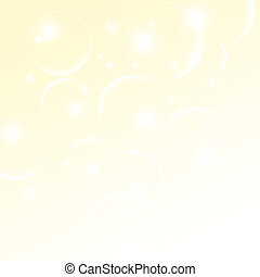 Abstract light-cream background with a bokeh  for design
