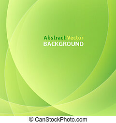 Abstract light green background. Vector illustration. -...
