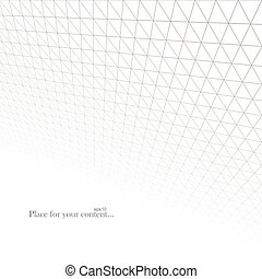 Abstract light grid background.