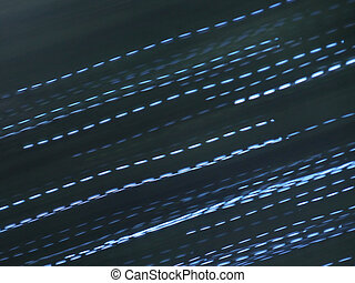 Abstract light lines