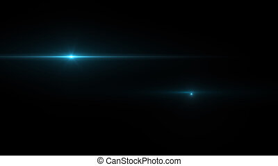 Abstract light on black background