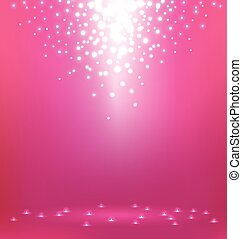 Abstract  Light on pink background