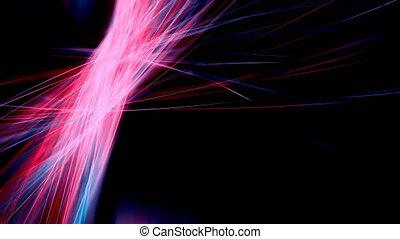 Abstract Light Streaks. Seamless loop.