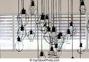 Abstract lighting decor