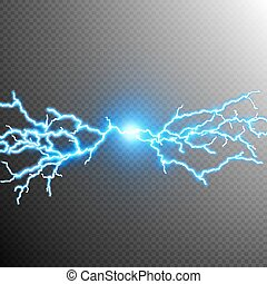 Abstract lightning storm background. EPS 10 vector file included