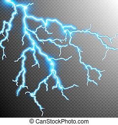 Abstract lightning storm background. EPS 10 vector file...