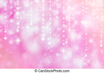 Abstract lights background - Pink colored image of abstract...