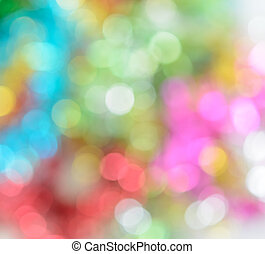 Abstract lights bokeh background