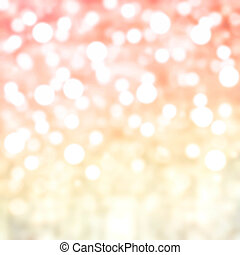 Abstract Lights Festive Christmas  background with texture. Pink