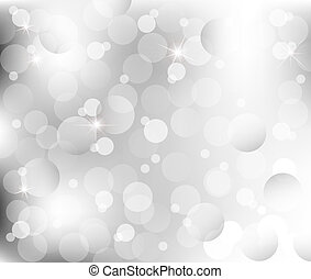 abstract Lights on gray silver background vector ...