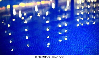 Abstract lights reflection.