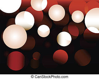 abstract lights - small DOF f/x in vector, great for holiday...