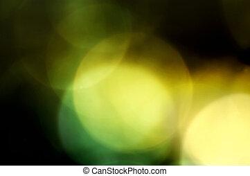 abstract lights - greenish abstract lights