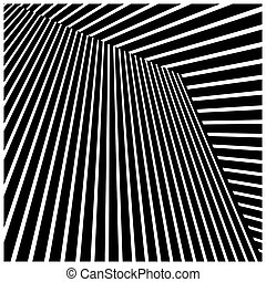 abstract, lijnen, diagonaal, illustratie, achtergrond., vector, black , model
