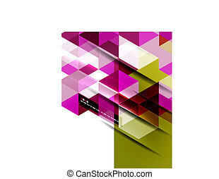 abstract, lijnen, recht, achtergrond