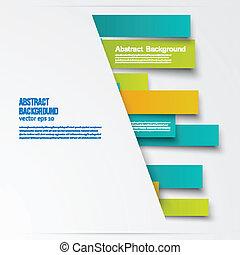 abstract, lijnen, vector, informatieboekje , kaart, design.