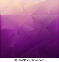 Abstract Lilac Background, Vector Illustration