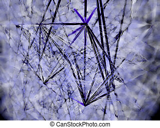 Abstract line construction digital art - Abstract Lines...