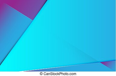 Abstract line gradient blue and purple future trendy banner background