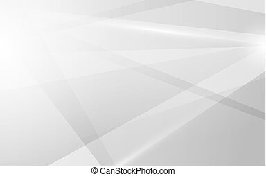 Abstract line gradient white and grey future trendy banner background