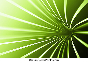 Abstract line green background