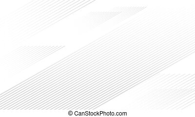 Abstract line on white background with copy space vector illustration