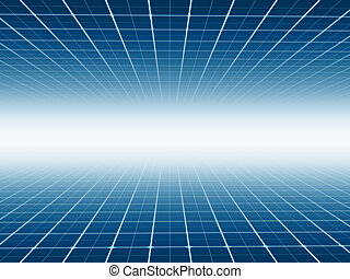 Abstract line technology background