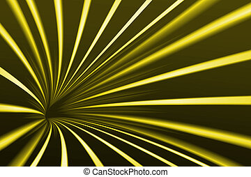 Abstract line yellow background
