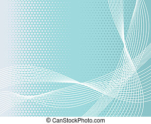 abstract lines - abstract background in vector format, very...