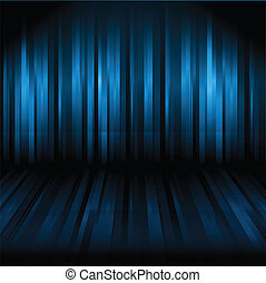Abstract lined background in shades of blue