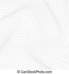 abstract, lines., achtergrond, vervormd