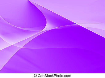 Abstract lines and curve purple background
