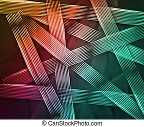 Abstract Lines Backdrop