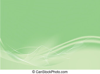 abstract lines background - composition of curved...