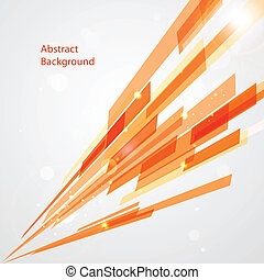 Abstract lines background in vector