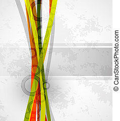 Abstract lines background - Vector illustration for your...