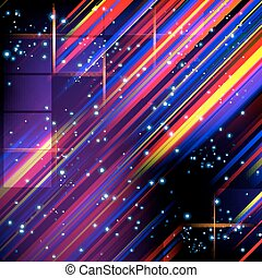 Abstract lines design on dark background.
