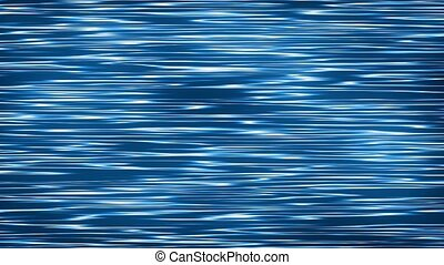 Abstract lines noise in blue