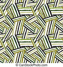 Abstract lines seamless pattern.