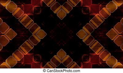 Abstract Lines Shapes VJ Loop