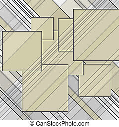 abstract lines squares