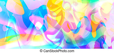 Abstract liquid colors background