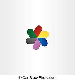 abstract logo business technology icon vector.eps