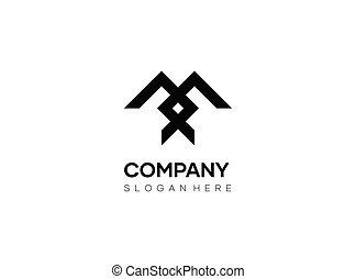 Abstract logo design, modern minimal vector logo abstract symbol