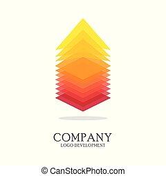 Abstract logo design vector template