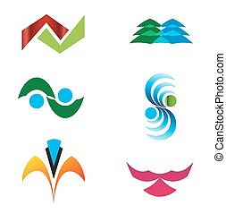 Abstract logo element
