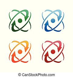 Abstract logo for business company. Corporate identity design element