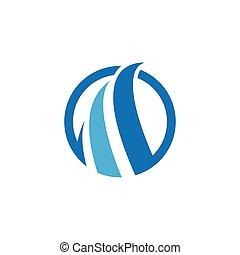 Abstract logo template vector icon