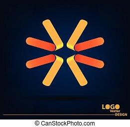 Abstract logo vector design