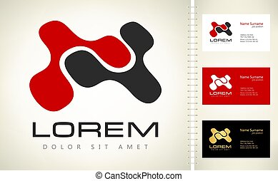 abstract logo vector design